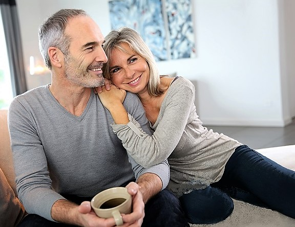 midlife couple
