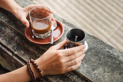 saigon - street imagery - coffee