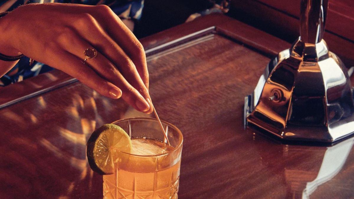 drink - hand - desk